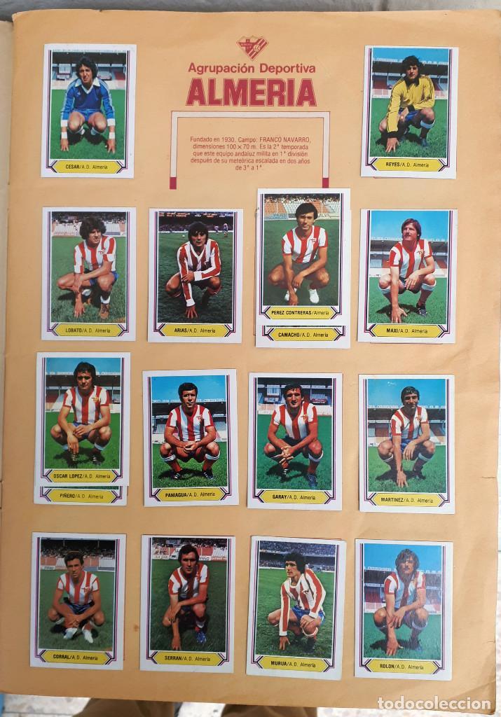 Álbum de fútbol completo: ALBUM FUTBOL LIGA 1980 1981 80 81 ESTE COMPLETO CON ASES EN ACCION ORIGINAL , K - Foto 2 - 190449887