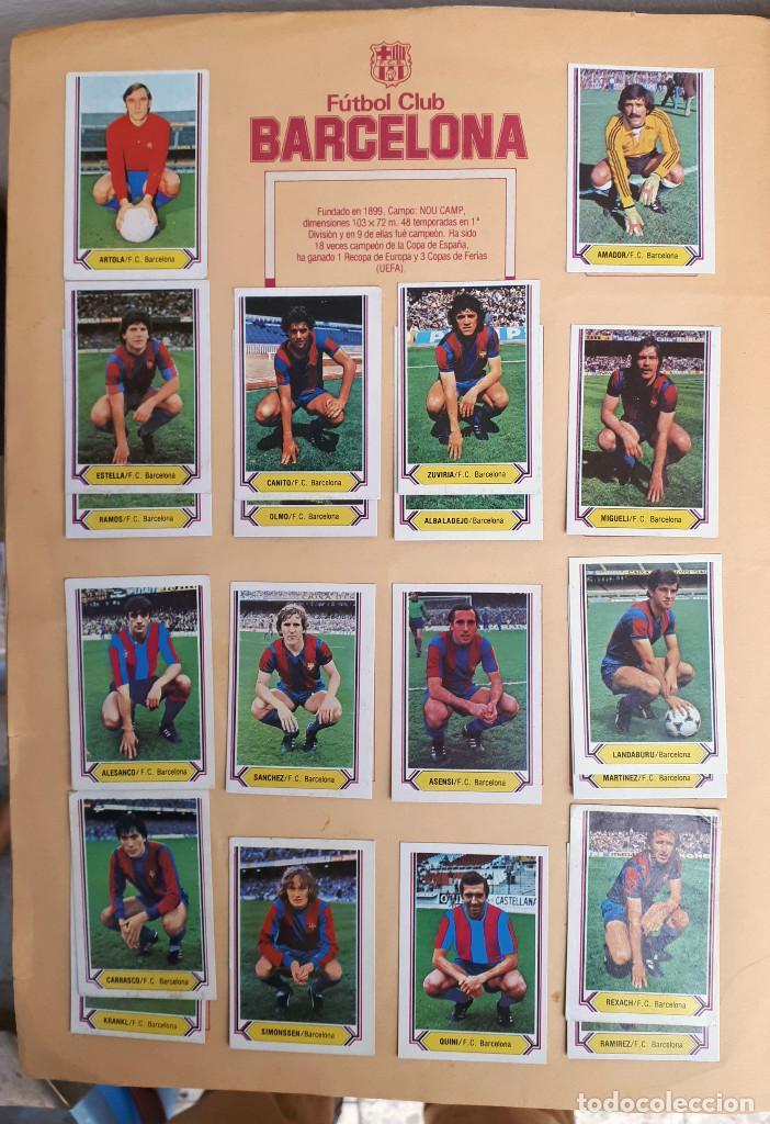 Álbum de fútbol completo: ALBUM FUTBOL LIGA 1980 1981 80 81 ESTE COMPLETO CON ASES EN ACCION ORIGINAL , K - Foto 3 - 190449887