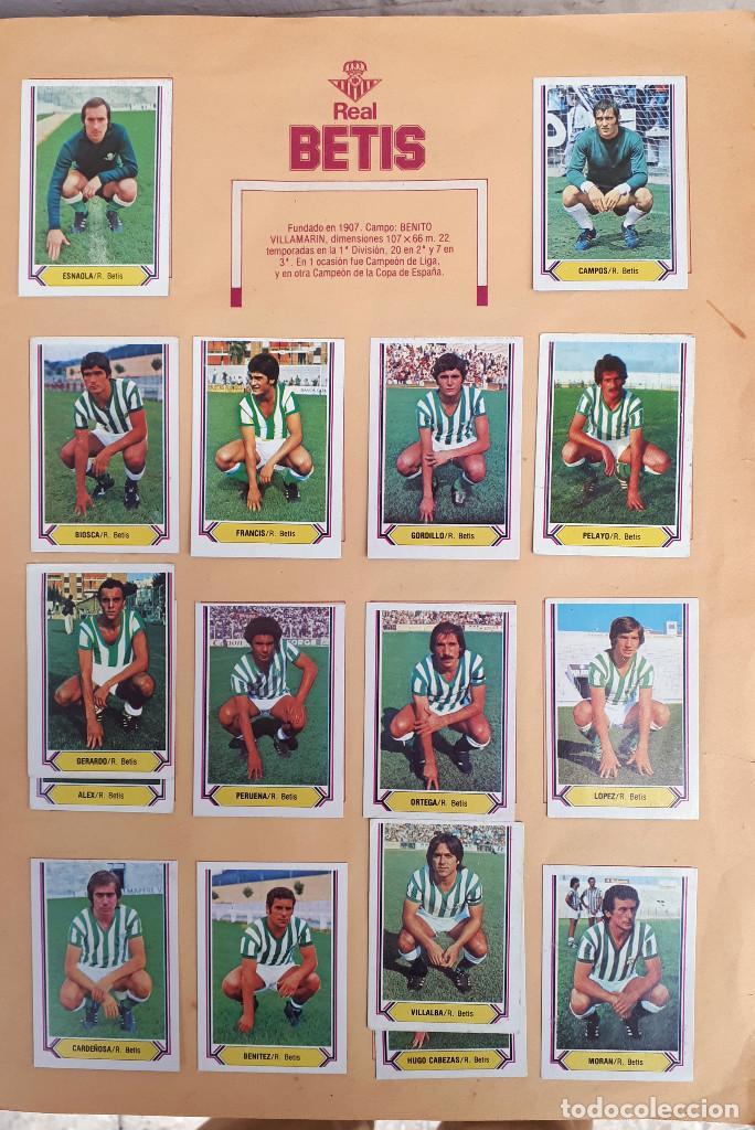 Álbum de fútbol completo: ALBUM FUTBOL LIGA 1980 1981 80 81 ESTE COMPLETO CON ASES EN ACCION ORIGINAL , K - Foto 4 - 190449887