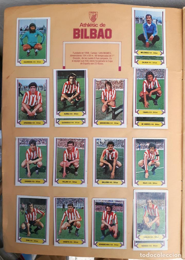 Álbum de fútbol completo: ALBUM FUTBOL LIGA 1980 1981 80 81 ESTE COMPLETO CON ASES EN ACCION ORIGINAL , K - Foto 6 - 190449887