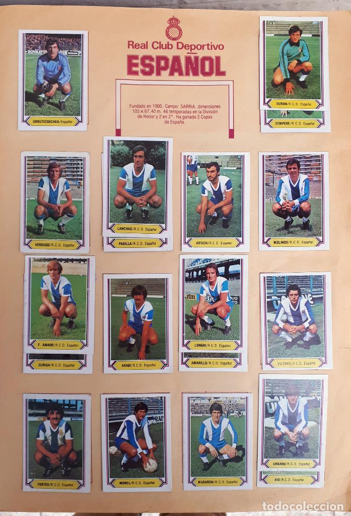 Álbum de fútbol completo: ALBUM FUTBOL LIGA 1980 1981 80 81 ESTE COMPLETO CON ASES EN ACCION ORIGINAL , K - Foto 7 - 190449887