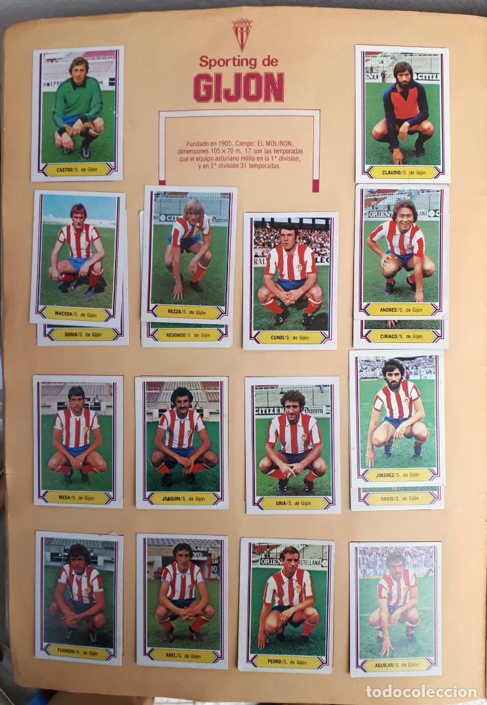 Álbum de fútbol completo: ALBUM FUTBOL LIGA 1980 1981 80 81 ESTE COMPLETO CON ASES EN ACCION ORIGINAL , K - Foto 8 - 190449887