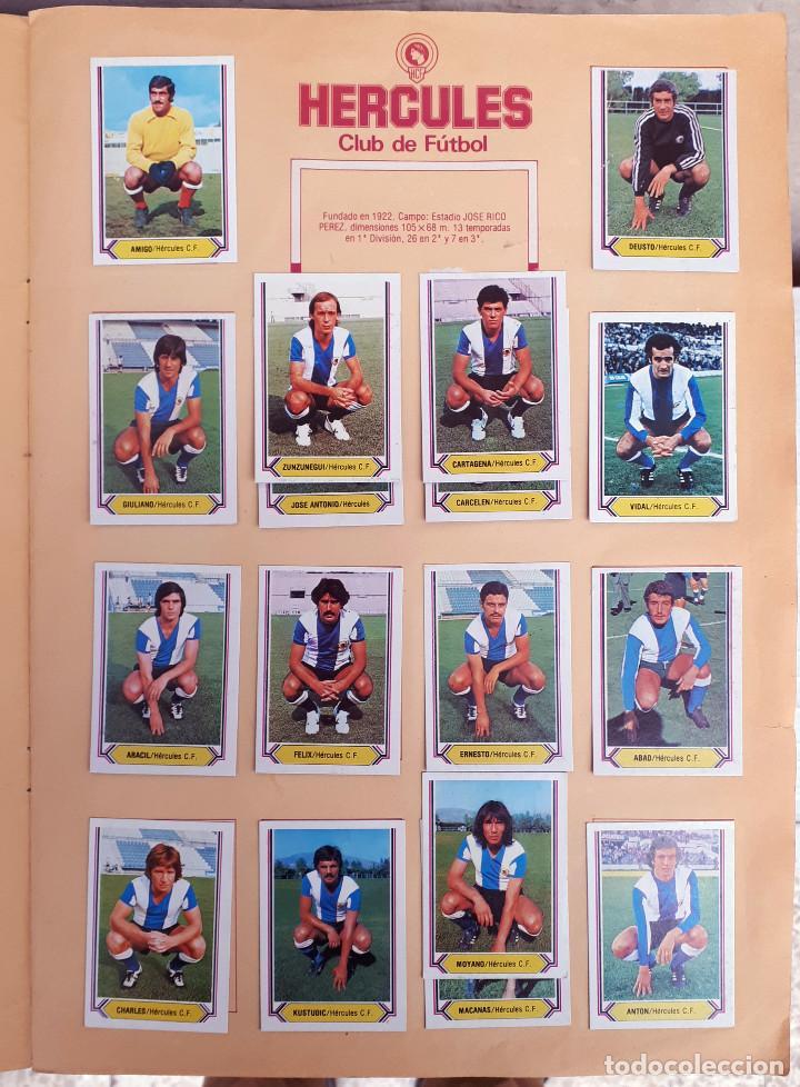 Álbum de fútbol completo: ALBUM FUTBOL LIGA 1980 1981 80 81 ESTE COMPLETO CON ASES EN ACCION ORIGINAL , K - Foto 9 - 190449887