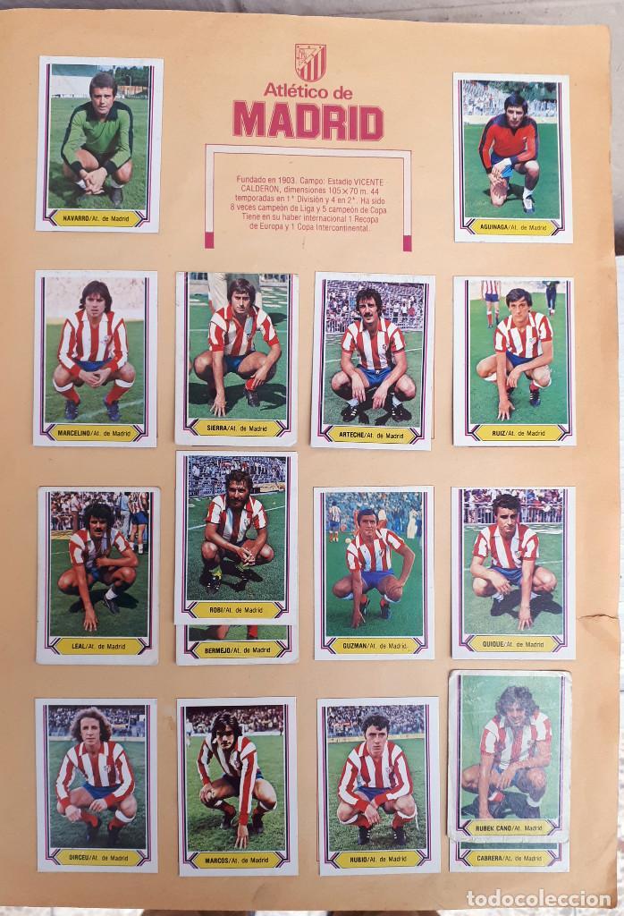 Álbum de fútbol completo: ALBUM FUTBOL LIGA 1980 1981 80 81 ESTE COMPLETO CON ASES EN ACCION ORIGINAL , K - Foto 11 - 190449887