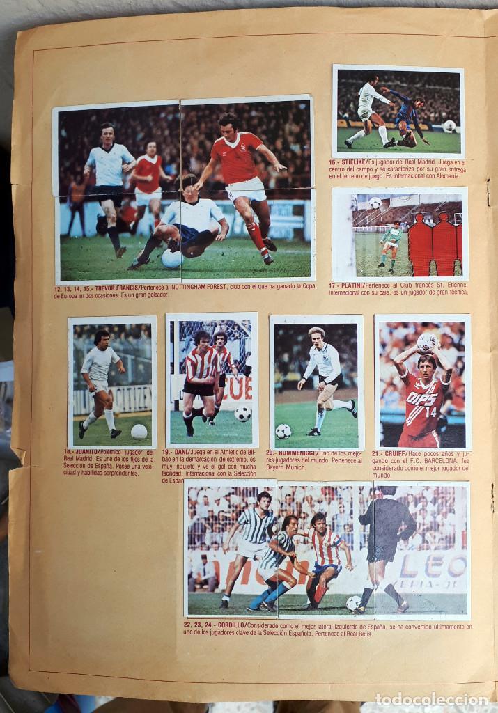Álbum de fútbol completo: ALBUM FUTBOL LIGA 1980 1981 80 81 ESTE COMPLETO CON ASES EN ACCION ORIGINAL , K - Foto 14 - 190449887