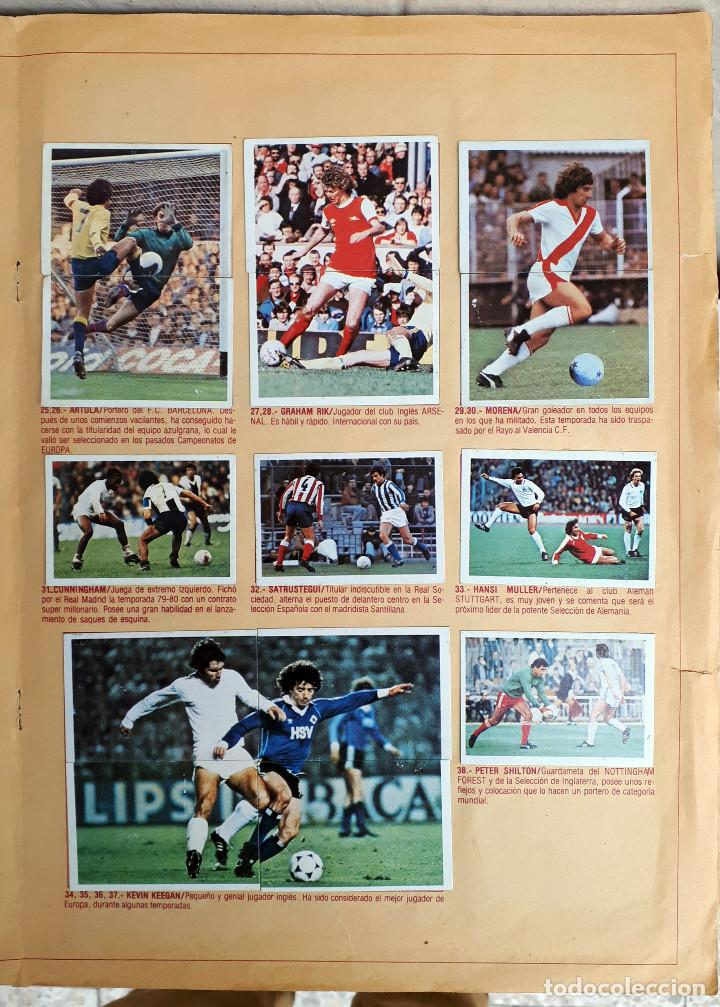 Álbum de fútbol completo: ALBUM FUTBOL LIGA 1980 1981 80 81 ESTE COMPLETO CON ASES EN ACCION ORIGINAL , K - Foto 15 - 190449887