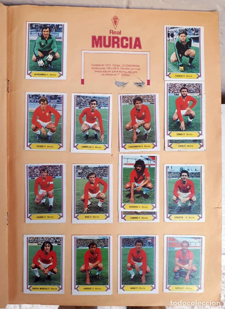 Álbum de fútbol completo: ALBUM FUTBOL LIGA 1980 1981 80 81 ESTE COMPLETO CON ASES EN ACCION ORIGINAL , K - Foto 17 - 190449887