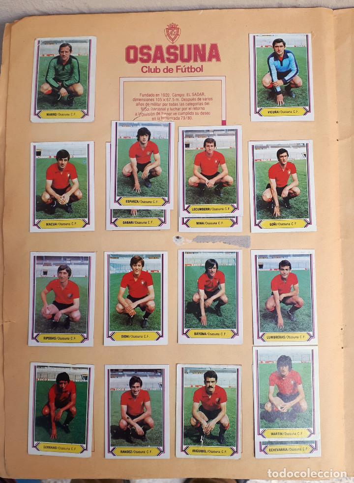 Álbum de fútbol completo: ALBUM FUTBOL LIGA 1980 1981 80 81 ESTE COMPLETO CON ASES EN ACCION ORIGINAL , K - Foto 18 - 190449887