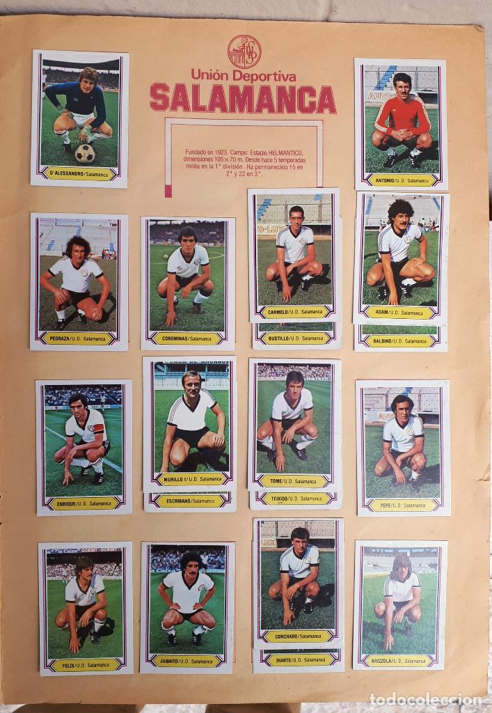 Álbum de fútbol completo: ALBUM FUTBOL LIGA 1980 1981 80 81 ESTE COMPLETO CON ASES EN ACCION ORIGINAL , K - Foto 19 - 190449887