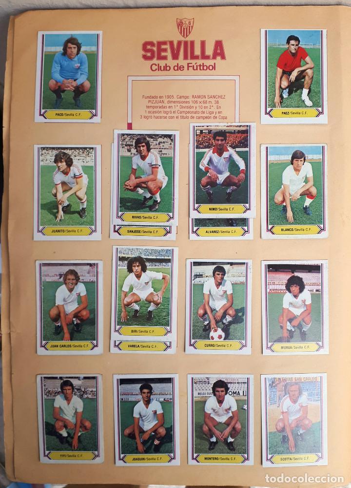 Álbum de fútbol completo: ALBUM FUTBOL LIGA 1980 1981 80 81 ESTE COMPLETO CON ASES EN ACCION ORIGINAL , K - Foto 20 - 190449887