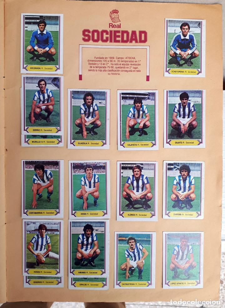 Álbum de fútbol completo: ALBUM FUTBOL LIGA 1980 1981 80 81 ESTE COMPLETO CON ASES EN ACCION ORIGINAL , K - Foto 21 - 190449887