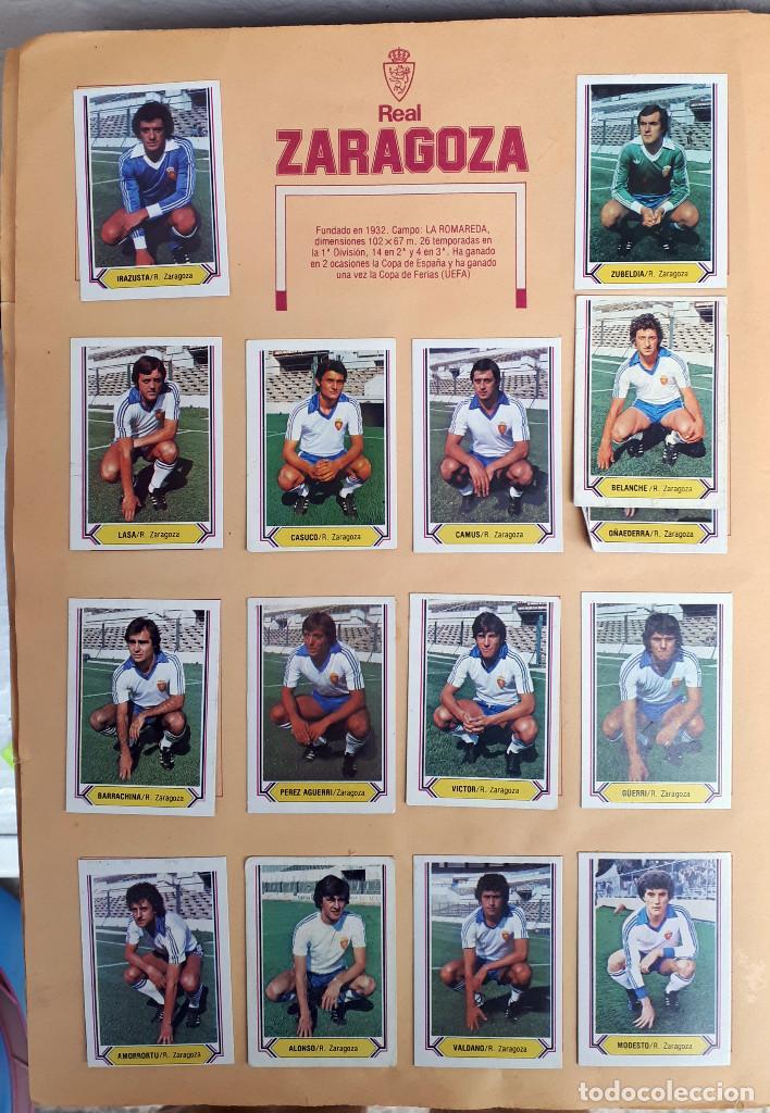 Álbum de fútbol completo: ALBUM FUTBOL LIGA 1980 1981 80 81 ESTE COMPLETO CON ASES EN ACCION ORIGINAL , K - Foto 24 - 190449887