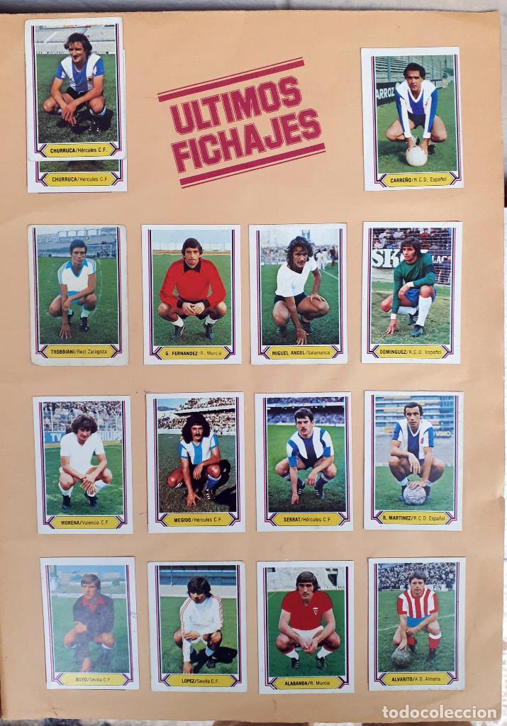 Álbum de fútbol completo: ALBUM FUTBOL LIGA 1980 1981 80 81 ESTE COMPLETO CON ASES EN ACCION ORIGINAL , K - Foto 25 - 190449887