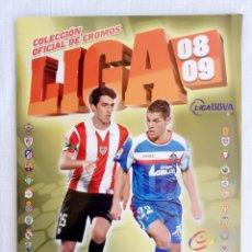 Álbum de fútbol completo: ALBUM ED. ESTE. - LIGA 2008-2009 - #. Lote 190505453