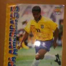 Álbum de fútbol completo: ÁLBUM COMPLETO COPA AMÉRICA 95 EDITORIAL MUNDICROMO SPORT 1995 SUDAMERICA. Lote 190525912