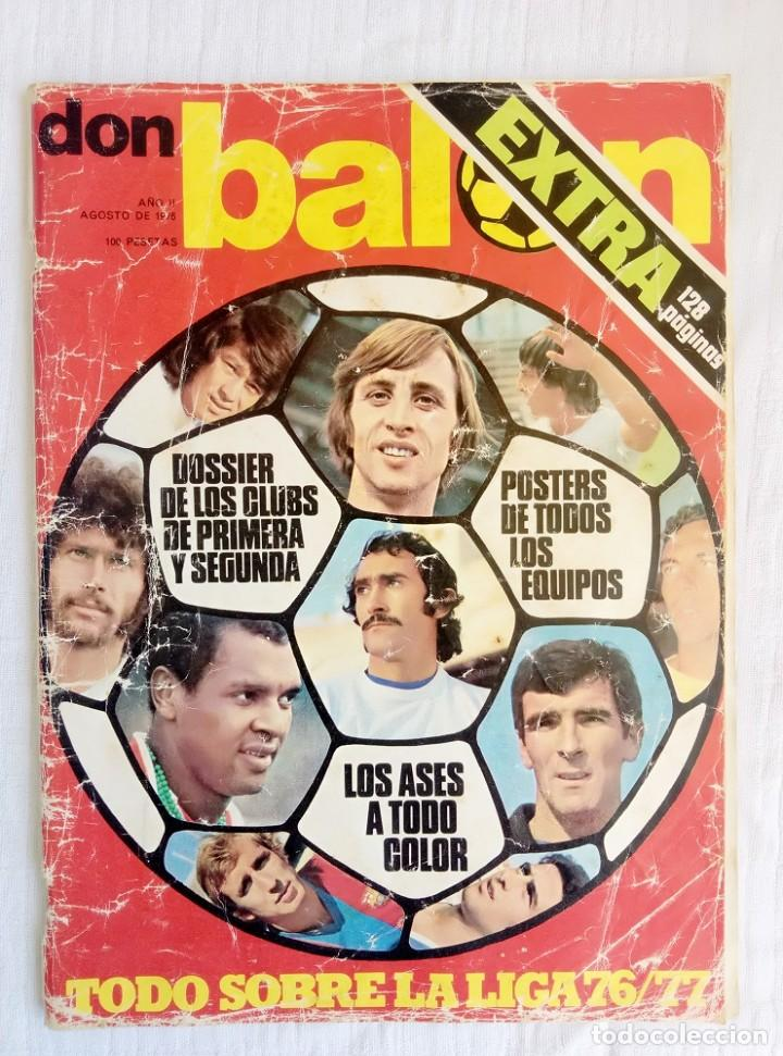 DON BALÓN. - EXTRA LIGA 76/77 - # (Coleccionismo Deportivo - Álbumes y Cromos de Deportes - Álbumes de Fútbol Completos)