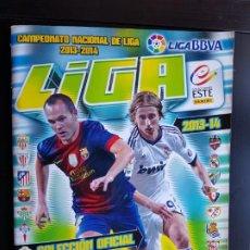 Álbum de fútbol completo: ÁLBUM CROMOS FÚTBOL ESTE 2013-2014 COMPLETO ORIGINAL + 581 13-14. Lote 190708852