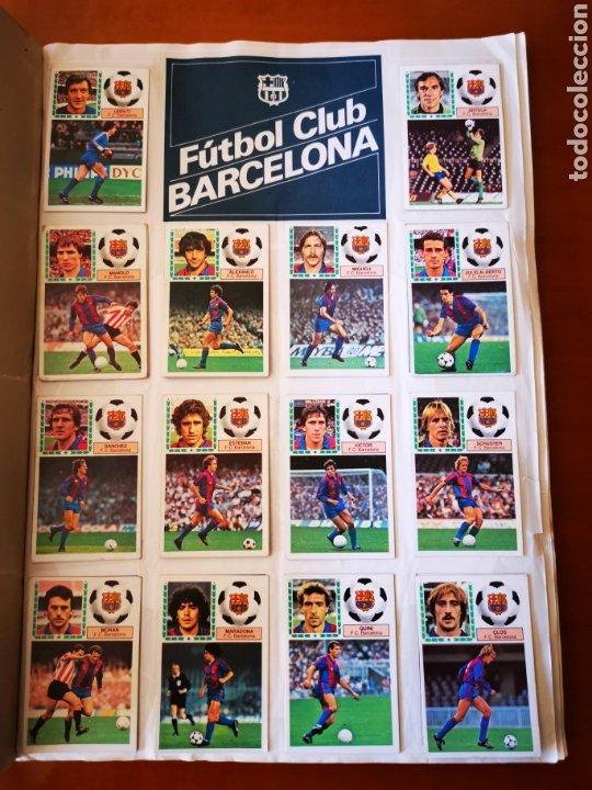 Álbum de fútbol completo: Album 1983/84 83/84. completo con 83 dobles leer descripción - Foto 2 - 190795445