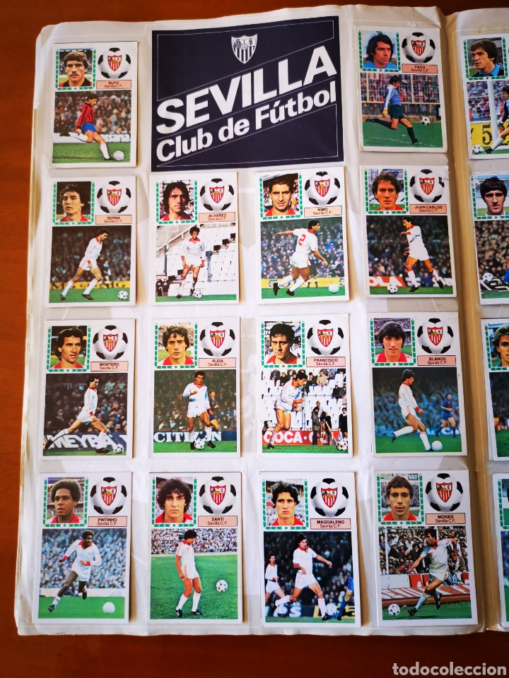 Álbum de fútbol completo: Album 1983/84 83/84. completo con 83 dobles leer descripción - Foto 17 - 190795445