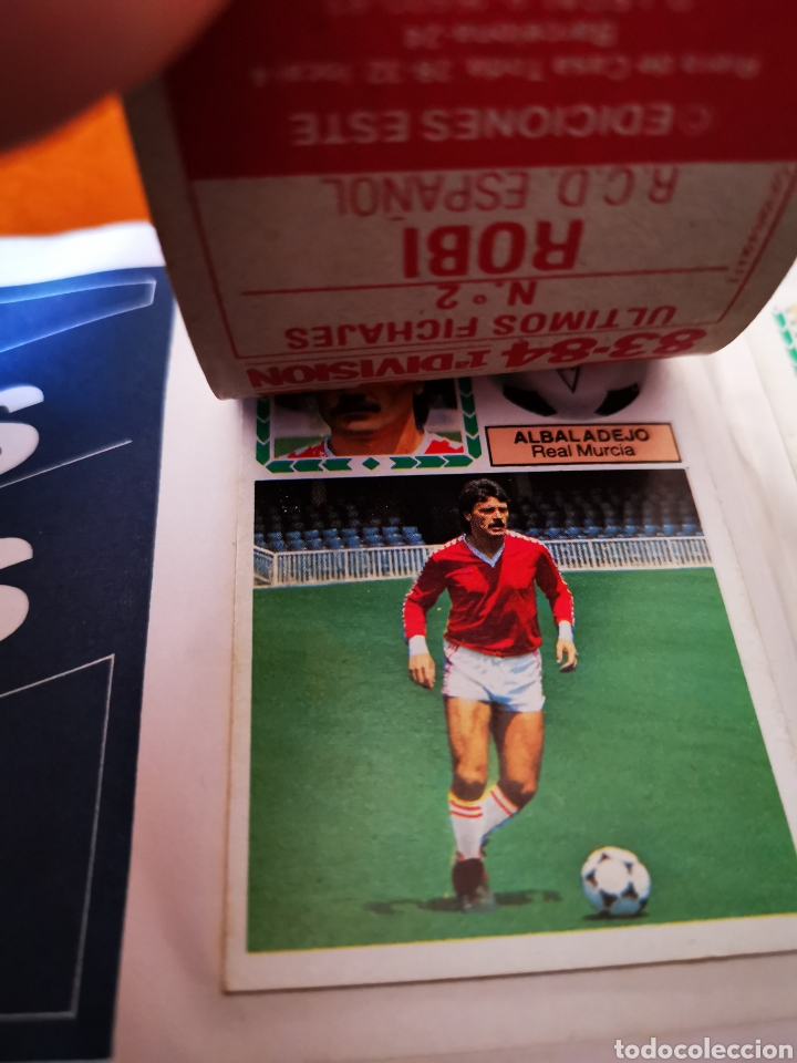 Álbum de fútbol completo: Album 1983/84 83/84. completo con 83 dobles leer descripción - Foto 28 - 190795445