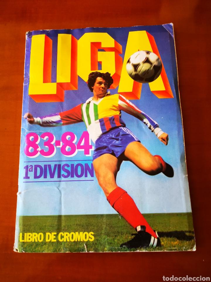 ALBUM 1983/84 83/84. COMPLETO CON 83 DOBLES LEER DESCRIPCIÓN (Coleccionismo Deportivo - Álbumes y Cromos de Deportes - Álbumes de Fútbol Completos)