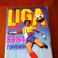 Álbum de fútbol completo: ALBUM 83/84 COMPLETO CON 83 DOBLES. Lote 190795445