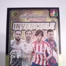 Álbum de fútbol completo: ADRENALYN XL 2019 2020 19 20 CARD INVENCIBLE N° 462. Lote 220991563
