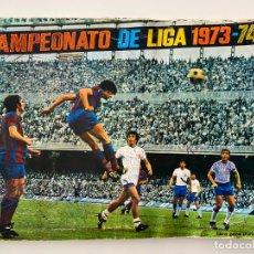Álbum de fútbol completo: ALBUM DE FUTBOL DE FHER AÑOS 1973 - 1974 COMPLETO CON FICHAJES . Lote 191056880