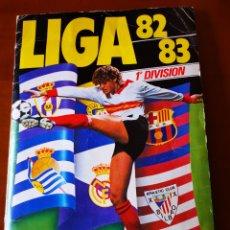 Álbum de fútbol completo: ALBUM 82/83 CON CROMOS ORIGINALES DE PRECIADO, CLOS, OSWALDO, ETC. Lote 191174967