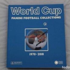Álbum de fútbol completo: ALBUM PANINI . LIBRO FACSIMIL MUNDIAL DE FÚTBOL. WORLD CUP 1970-2018 .. Lote 191184208
