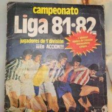 Álbum de fútbol completo: LIGA ESTE 81-82 ALBUM COMPLETO. TODOS HUECOS RELLENOS.. Lote 191197991