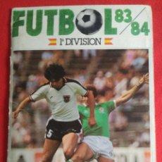 Álbum de fútbol completo: ALBUM CROMOS CANO 1983-1984. CROMOS CANO 83-84 COMPLETO. + 380 CROMOS. Lote 191229463