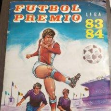 Álbum de fútbol completo: ALBUM CROMOS FUTBOL PREMIO 83-84. Lote 191334292