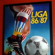 Álbum de fútbol completo: ÁLBUM CROMOS COMPLETO FÚTBOL LIGA 86/87 EDICIONES ESTE SALVAT PANINI - EDICIÓN FACSÍMIL COLOCAS . Lote 191337353