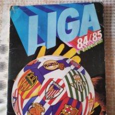 Álbum de fútbol completo: ALBUM COMPLETO 1984/85 CON TODOS LOS FICHAJES Y 84 DOBLES. Lote 191359787
