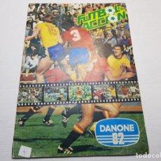 Álbum de fútbol completo: ALBUM COMPLETO FUTBOL EN ACCION DANONE 82. Lote 191368480