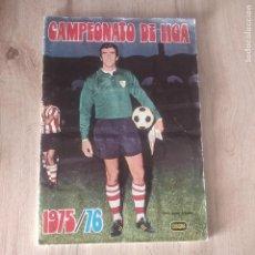 Álbum de fútbol completo: ALBUM COMPLETO 75/76 ED. FHER DISGRA.. Lote 191383975