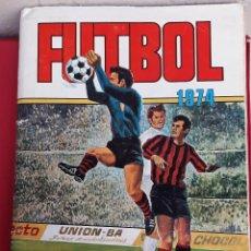 Álbum de fútbol completo: ALBUM FUTBOL LIGA 1973 1974 RUIZ ROMERO COMPLETO A FALTA DE 1 ORIGINAL VER FOTOS. Lote 191491795
