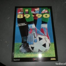 Álbum de fútbol completo: ALBUM DE LIGA 1989-90 DE ESTE,FASCIMIL COMPLETO. Lote 191531372