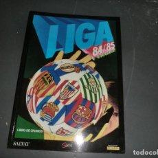 Álbum de fútbol completo: LIGA 1984-85 DE ESTE COMPLETO Y EN FASCIMIL. Lote 191532246