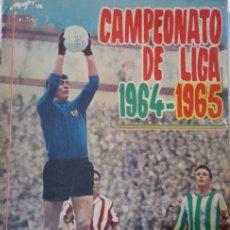 Álbum de fútbol completo: ALBUM DE CROMOS CAMPEONATO DE LIGA 1964-1965. DISGRA. COMPLETO. 256 CROMOS.. Lote 191541156