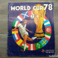Álbum de fútbol completo: ARGENTINA 78 PANINI ALBUM COMPLETO Y SIN ESCRITOS. Lote 191557485
