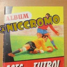 Álbum de fútbol completo: ÁLBUM RÉPLICA A COLOR ASES DEL FÚTBOL LIGA 1953 1954 EDITORIAL BRUGUERA VER FOTOS NICCROMO. Lote 212227371