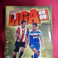 Álbum de fútbol completo: ÁLBUM DE CROMOS. LIGA 08-09. 2008-2009. EDICIONES ESTE. COMPLETO. CON 442 CROMOS. Lote 191604415