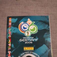 Álbum de fútbol completo: ALBUM DE CROMOS GERMANY 2006 FIFA WORLD CUP DE PANINI COMPLETO Y EN PERFECTO ESTADO. Lote 191605673
