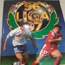 Álbum de fútbol completo: ÁLBUM ESTE 96/97 MUY COMPLETO CON MUCHOS DOBLES Y LA VERSIÓN DIFÍCIL DE ANDERSON. Lote 191734192