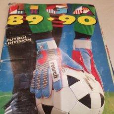 Álbum de fútbol completo: ÁLBUM ESTE 89/90 PARA RECUPERAR CROMOS O TERMINAR DE COLECCIONAR. Lote 191734455