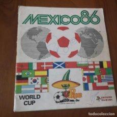 Álbum de fútbol completo: ALBUM MUNDIAL MEXICO 86. COMPLETO. Lote 191796758