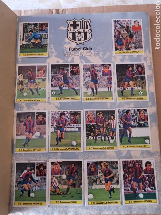 Álbum de fútbol completo: Album completo 81/82 1981/82 con 396 cromos.Leer descripción. - Foto 2 - 191797202