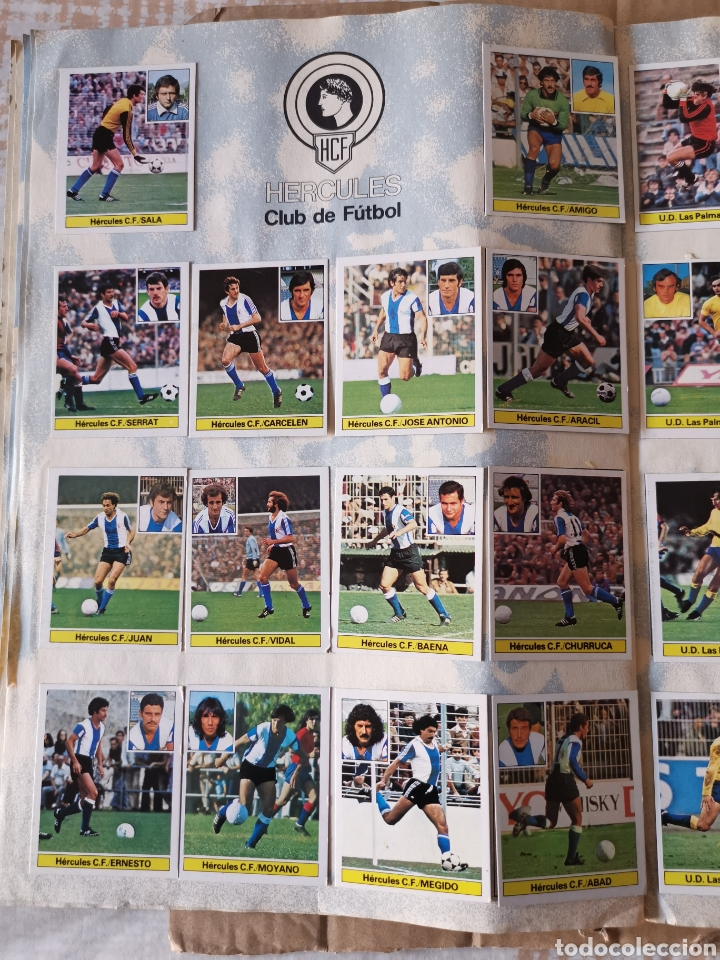 Álbum de fútbol completo: Album completo 81/82 1981/82 con 396 cromos.Leer descripción. - Foto 9 - 191797202